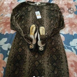 MK dress with shoes